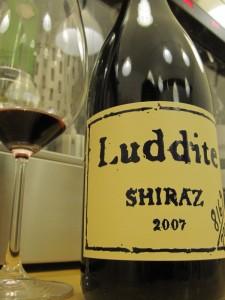 Luddite 2007 Shiraz