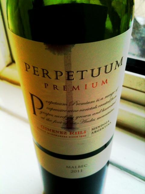 Perpetuum 2011 malbec